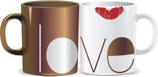 Amour de café illustration de vecteur