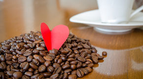 Amour de café Photo stock