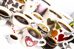 Amour de café Images stock