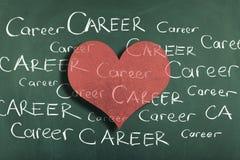 Amour de carrière Images stock