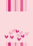 amour de carte Images stock