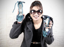 Amour de chaussures Images stock