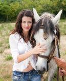 Amour de cheval Images libres de droits