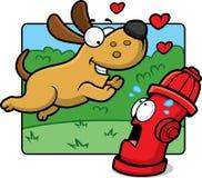 Amour de chiot Image libre de droits