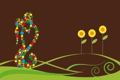 Amour de chocolat Images libres de droits