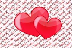 Amour de coeur Photographie stock