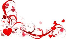 Amour de coeur Photos libres de droits