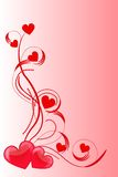 Amour de coeur Photos stock