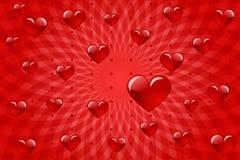 Amour de coeur Image libre de droits