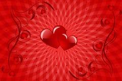 Amour de coeur illustration libre de droits