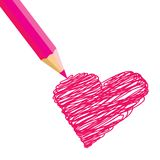amour de coeur illustration de vecteur