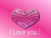 Amour de coeur de jour de valentines Photos libres de droits