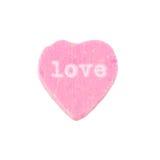 Amour de coeur de sucrerie Photos libres de droits