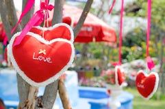 Amour de coeur pour la valentine Photos libres de droits