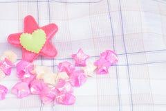 Amour de coeur pour le fond Photos stock