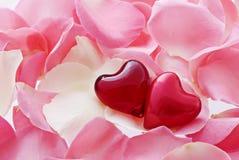 amour de coeurs Photos libres de droits