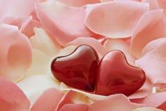 amour de coeurs Image stock