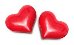 amour de coeurs Image libre de droits