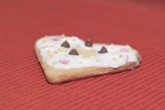 Amour de coeurs de biscuits Photographie stock