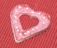 Amour de coeurs de biscuits Image stock