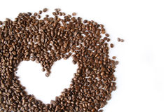 Amour de Coffe Images libres de droits