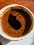 Amour de Coffe Photo stock