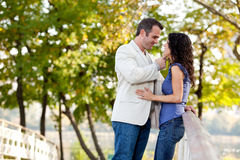 Amour de couples Images stock