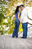 Amour de couples Photographie stock