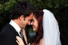 Amour de couples de mariage Photo libre de droits