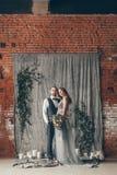 Amour de cristal de mariage Images libres de droits