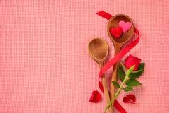 Amour de cuisine fine Photographie stock