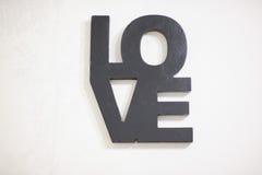 Amour de décor de mariage Photos libres de droits