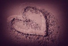 Amour de désert Photographie stock