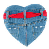 Amour de denim Photo stock