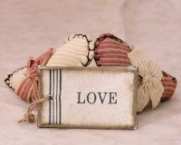 Amour de deux coeurs Photographie stock libre de droits