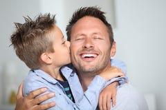 Amour de famille Photos stock