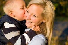 Amour de famille. Image stock