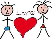 Amour de famille Image stock