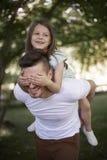 Amour de famille Photos libres de droits