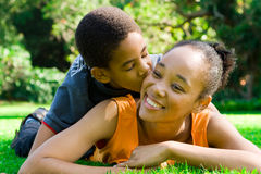 amour de famille Images libres de droits