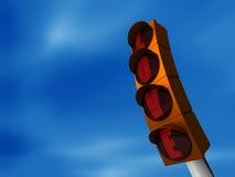Amour de feu de signalisation Photos libres de droits
