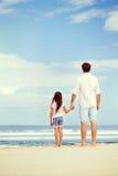 Amour de fille de père Images libres de droits