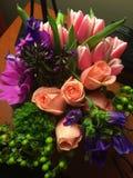 Amour de fleurs Photographie stock libre de droits