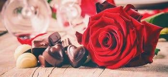 Amour de fond et romantique Photographie stock libre de droits