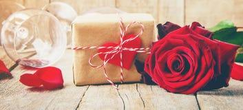 Amour de fond et romantique Photographie stock