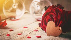 Amour de fond et romantique Photo libre de droits
