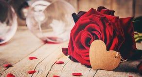 Amour de fond et romantique Images stock