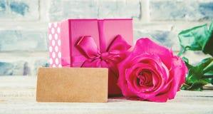 Amour de fond et romantique Images libres de droits