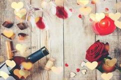 Amour de fond et romantique Photos stock