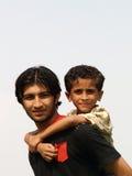 Amour de frère Images libres de droits